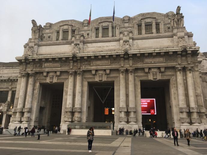 La gare centrale de Milan
